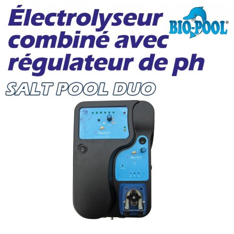 electrolyseur bio pool salt duo