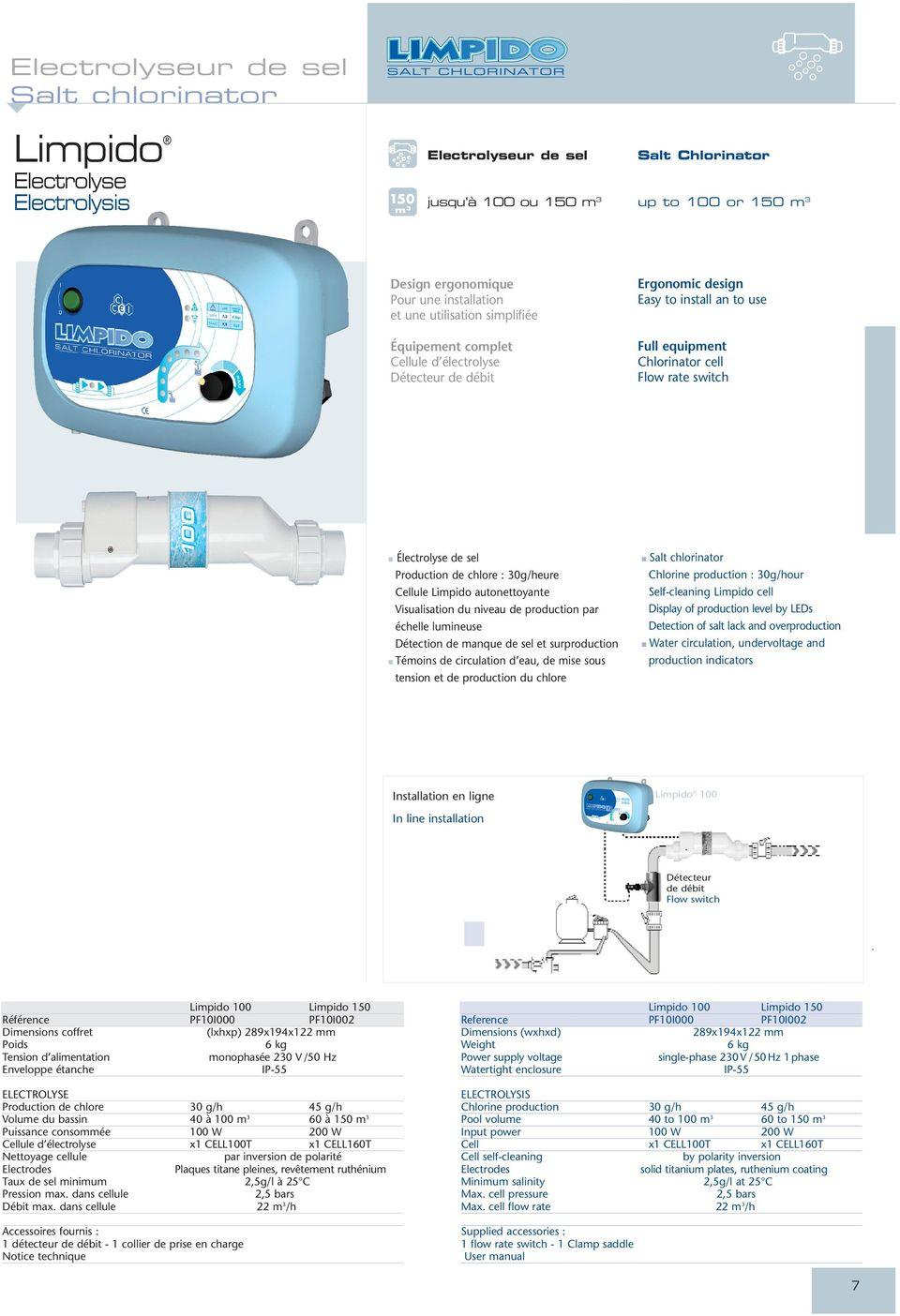 electrolyseur easy lc 60