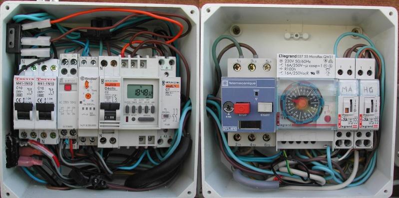 electrolyseur fait disjoncter
