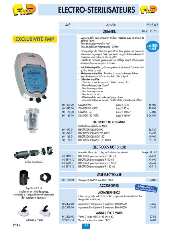 electrolyseur fmp