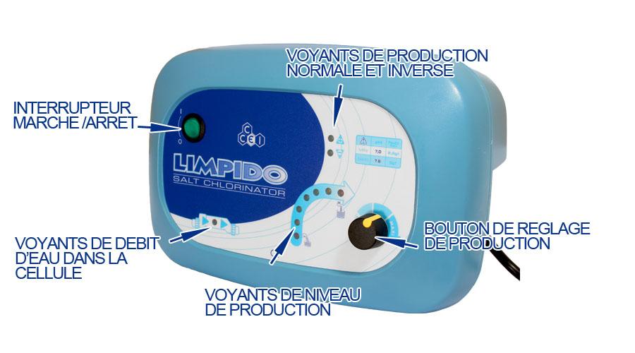 electrolyseur limpido 100