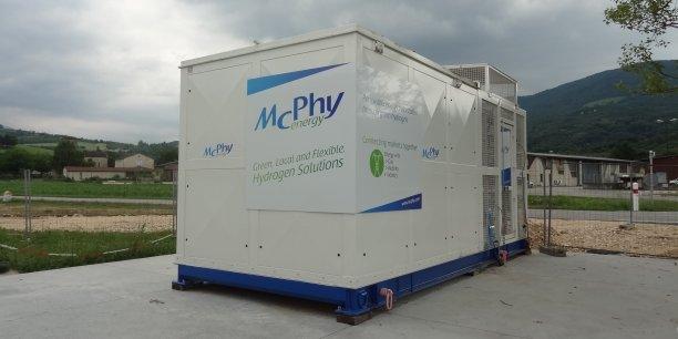 electrolyseur mcphy