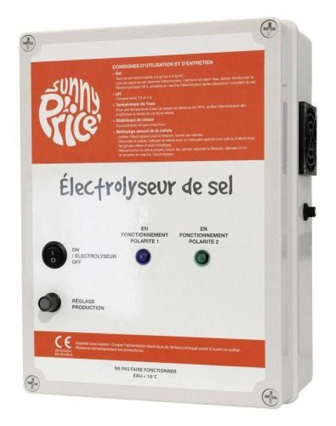 electrolyseur ne fonctionne pas