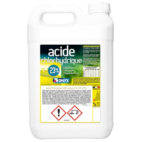 regulateur ph acide chloridrique