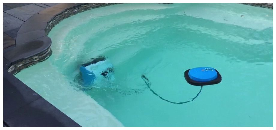 robot piscine 20m