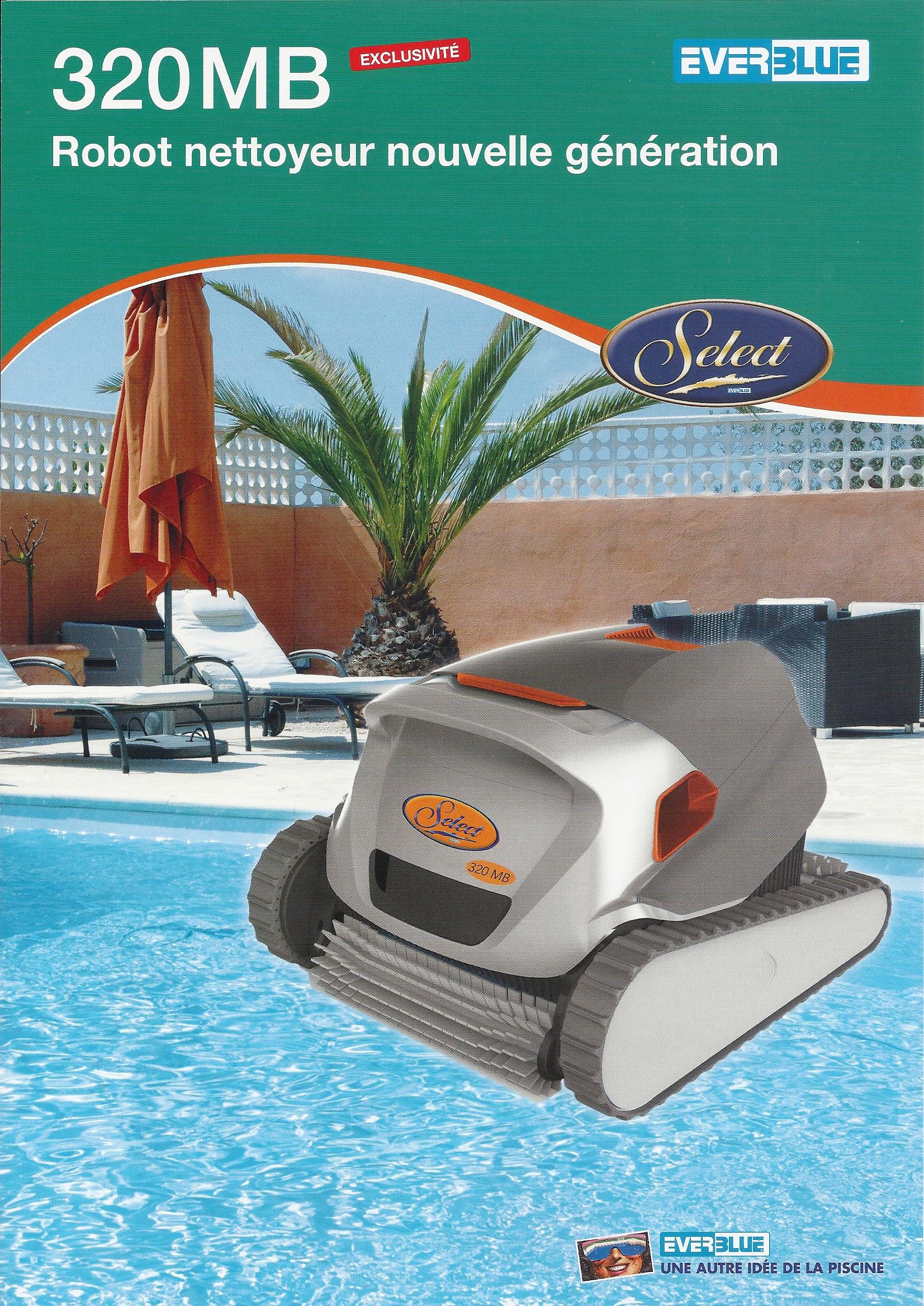 robot piscine 320 mb