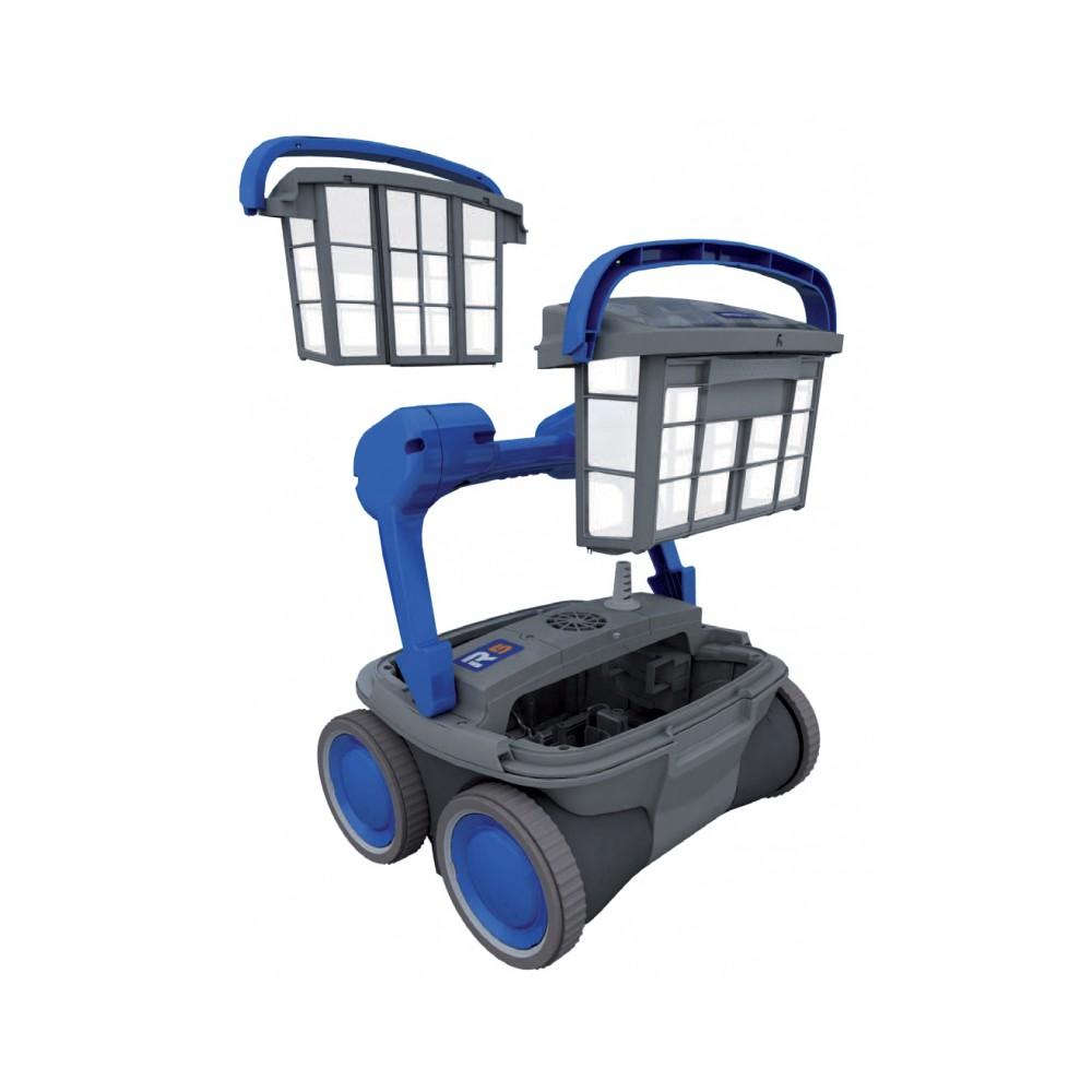 robot piscine 4 roues motrices