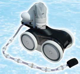 robot piscine avec surpresseur