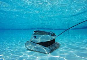 robot piscine beton