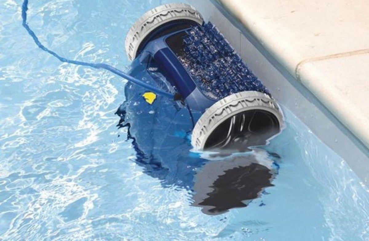 robot piscine carrelage