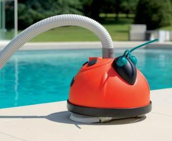 robot piscine coccinelle