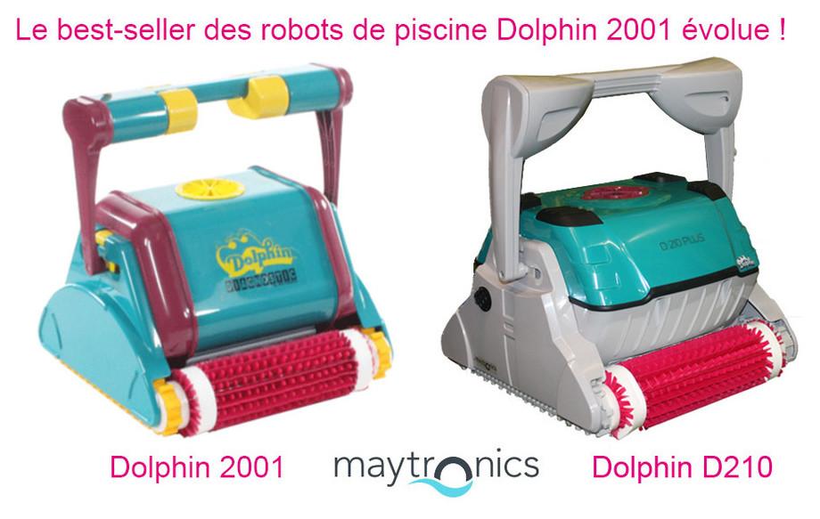 robot piscine dolphin d210