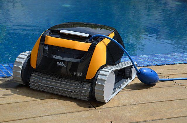 robot piscine dolphin e20