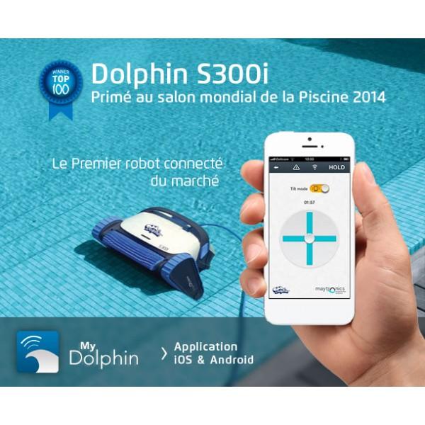 robot piscine dolphin s 300i