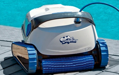 robot piscine dolphin s200