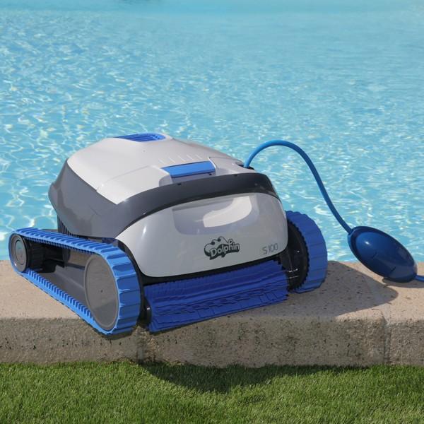 robot piscine dolphin s