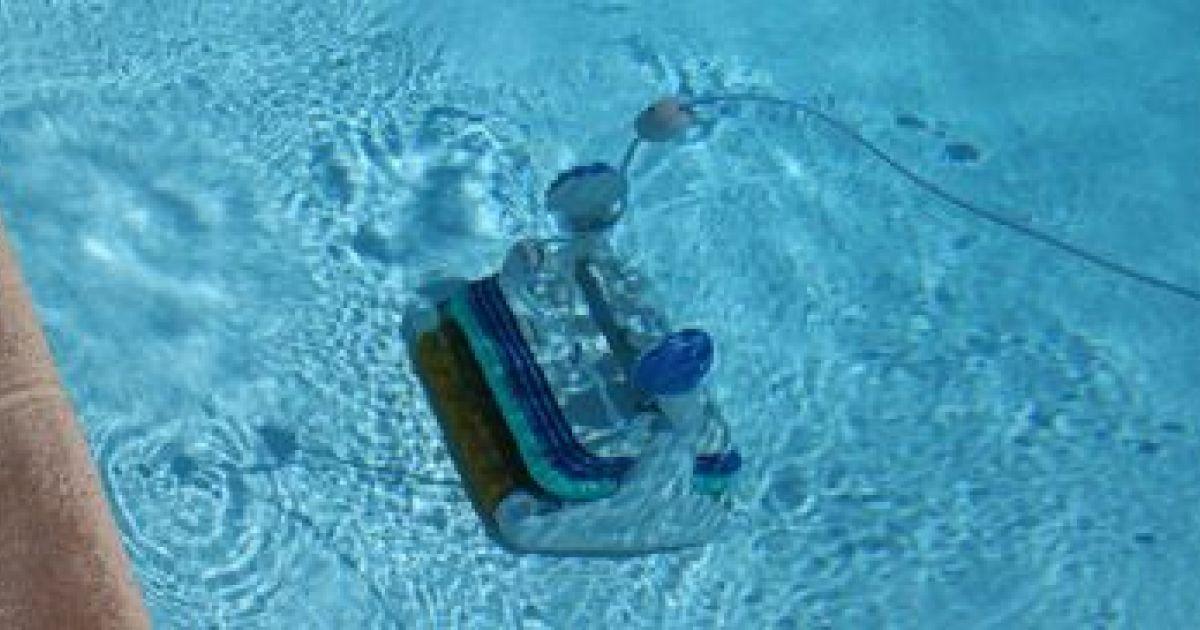 robot piscine electrique n'avance plus