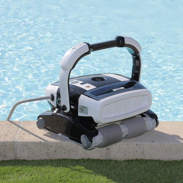 robot piscine fosse a plonger