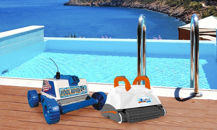 robot piscine groupon