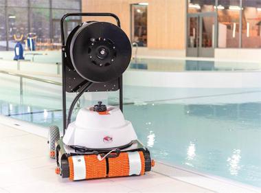 robot piscine hexagone