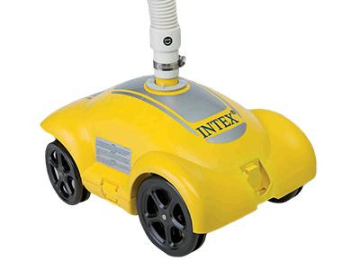 robot piscine hors sol intex