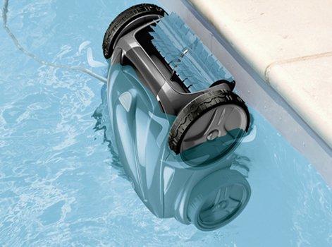 robot piscine liner