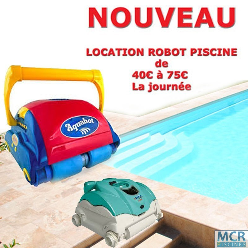 robot piscine location