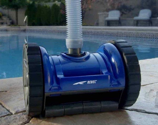 robot piscine pentair blue rebel