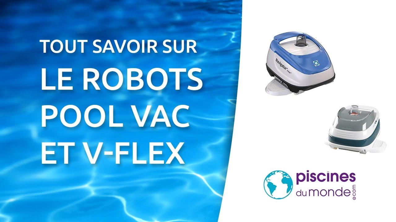 robot piscine pool vac v-flex