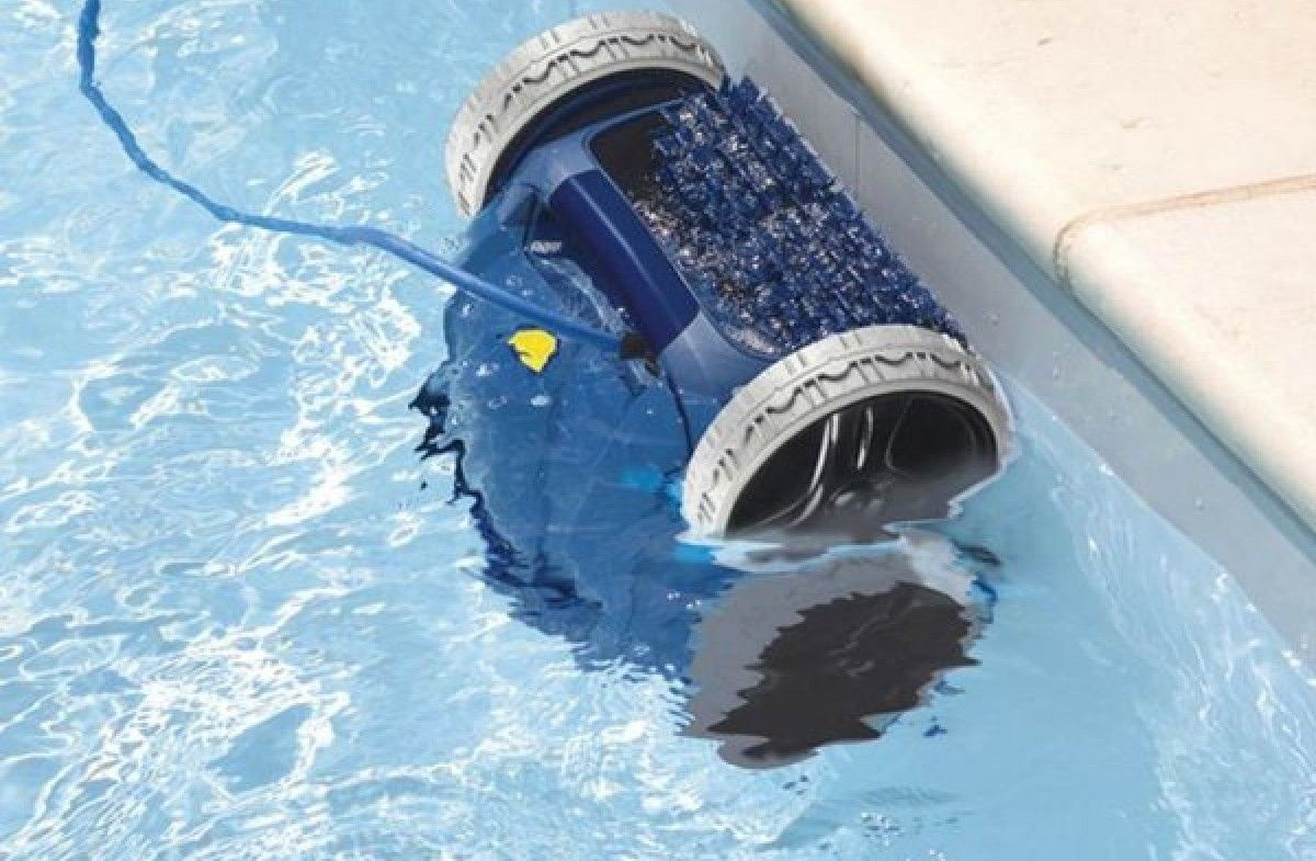 robot piscine qui n'avance pas