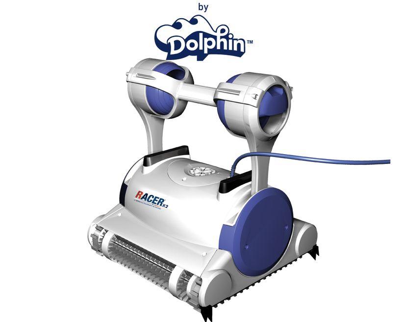 robot piscine racer x2