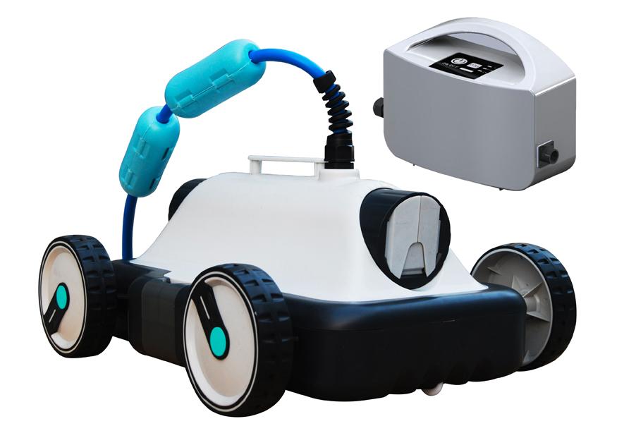 robot piscine rue du commerce