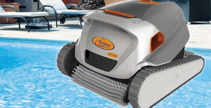 robot piscine select 520 mc