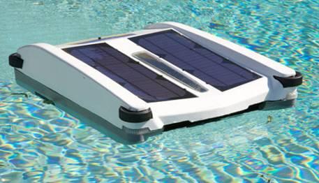 robot piscine solaire