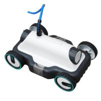 robot piscine warrior water clean