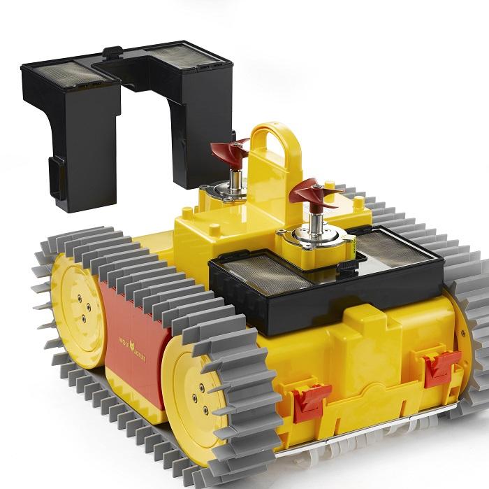 robot piscine wolf