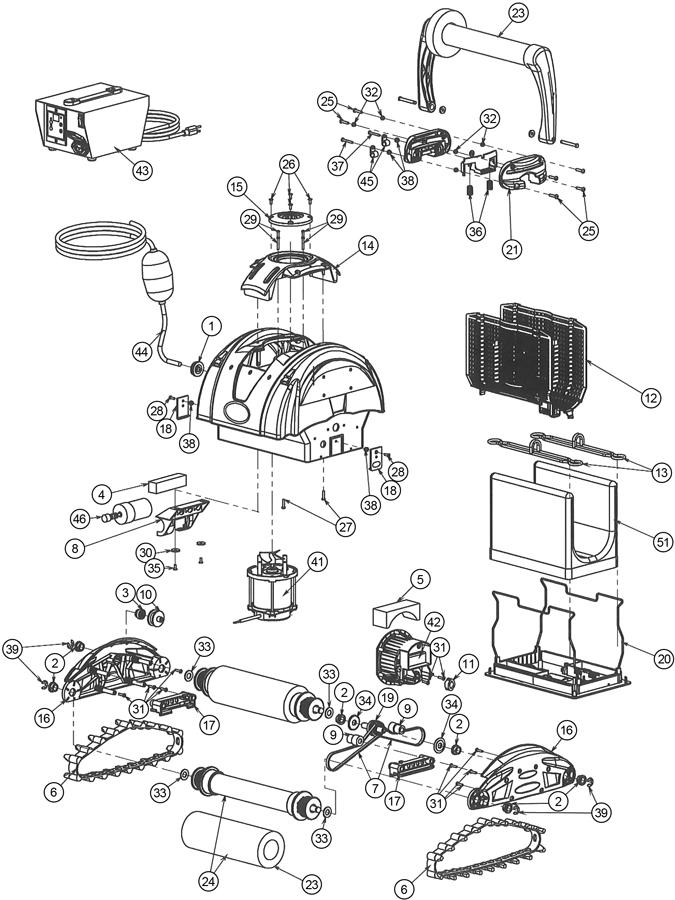 robot piscine xtreme 1