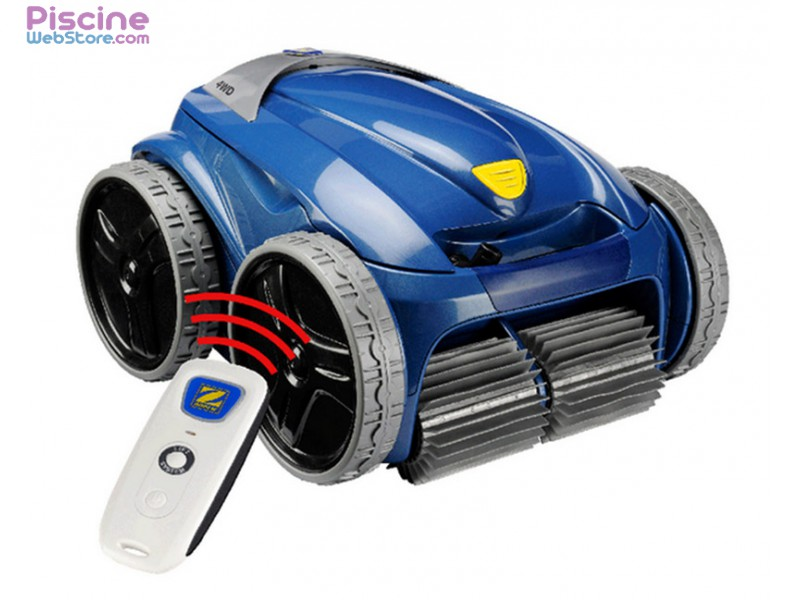robot piscine zodiac 4wd