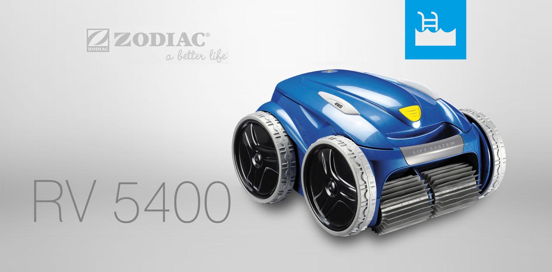 robot piscine zodiac rv 5400