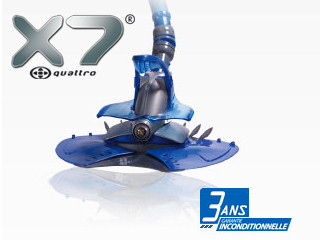 robot piscine zodiac x7