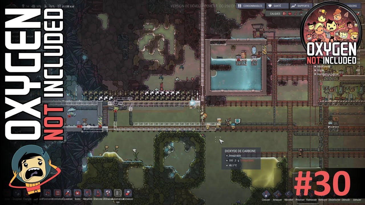 electrolyseur oxygen not included
