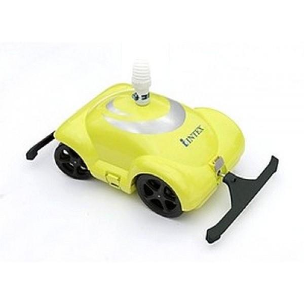 robot piscine intex jaune