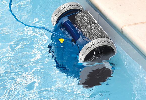 robot piscine n'aspire plus